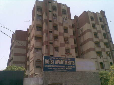 1800 sqft, 3 bhk Apartment in Reputed DGS Apartments Sector 22 Dwarka, Delhi at Rs. 1.6500 Cr