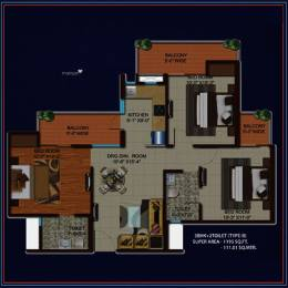 1195 sqft, 3 bhk Apartment in Migsun Kiaan Sector 14 Vasundhara, Ghaziabad at Rs. 59.7381 Lacs