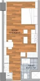 775 sqft, 1 bhk Apartment in AIPL Joy Street Sector 66, Gurgaon at Rs. 64.0000 Lacs