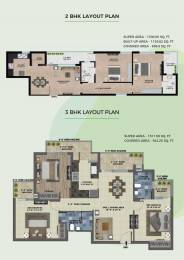 1260 sqft, 2 bhk Apartment in Builder Project Sector 115 Mohali, Mohali at Rs. 28.9000 Lacs