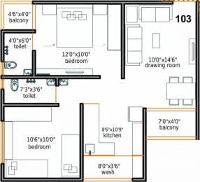 990 sqft, 2 bhk Apartment in Keval Ashraya 9 Ranip, Ahmedabad at Rs. 7000