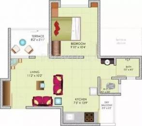 551 sqft, 1 bhk Apartment in Dreams Solace Hadapsar, Pune at Rs. 25.0000 Lacs