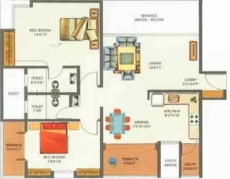 1086 sqft, 2 bhk Apartment in Siddhivinayak Selene Park Hadapsar, Pune at Rs. 42.0000 Lacs