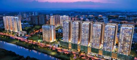 1400 sqft, 3 bhk Apartment in Duville Riverdale Heights Kharadi, Pune at Rs. 1.4500 Cr