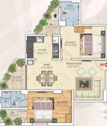1231 sqft, 2 bhk Apartment in Kotecha Royal Tatvam Mansarovar Extension, Jaipur at Rs. 36.3145 Lacs