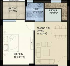 770 sqft, 1 bhk Apartment in SBP North Valley Sector 127 Mohali, Mohali at Rs. 17.9000 Lacs