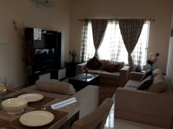 1545 sqft, 3 bhk Apartment in SMR Vinay Harmony County Bandlaguda Jagir, Hyderabad at Rs. 52.5300 Lacs