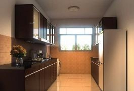 1545 sqft, 3 bhk Apartment in Vajra Vajras Jasmine County Gachibowli, Hyderabad at Rs. 71.0550 Lacs