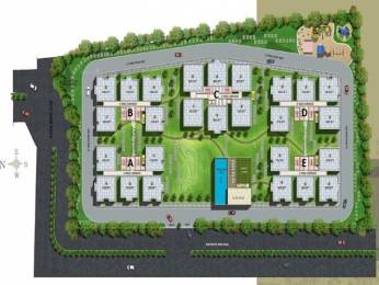 1545 sqft, 3 bhk Apartment in Vajra Vajras Jasmine County Gachibowli, Hyderabad at Rs. 71.0550 Lacs