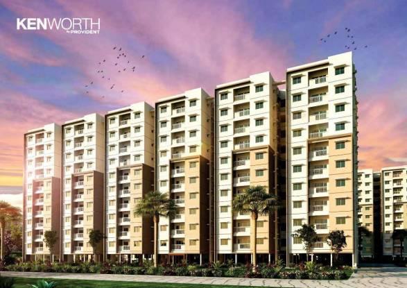 1040 sqft, 3 bhk Apartment in Provident Kenworth Rajendra Nagar, Hyderabad at Rs. 47.0000 Lacs