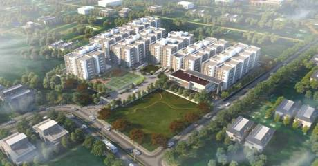 1368 sqft, 3 bhk Apartment in Ramky One Marvel Gajulramaram Kukatpally, Hyderabad at Rs. 41.0200 Lacs