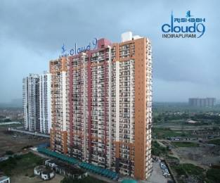 1075 sqft, 2 bhk Apartment in Rishabh Cloud 9 Skylish Towers Shakti Khand, Ghaziabad at Rs. 50.0000 Lacs