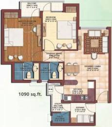 1090 sqft, 2 bhk Apartment in Earthcon Casa Royale Sector 1 Noida Extension, Greater Noida at Rs. 40.0000 Lacs