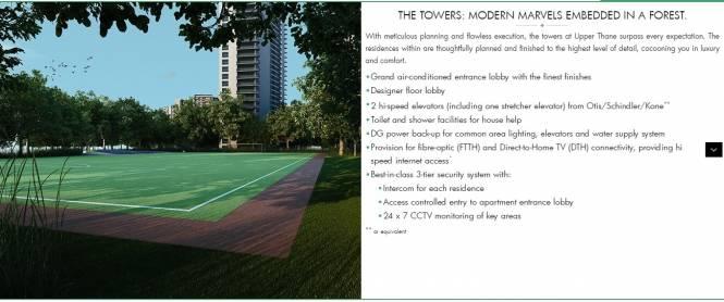 1026 sqft, 2 bhk Apartment in Builder lodha codename super deal Majiwada, Mumbai at Rs. 71.0000 Lacs