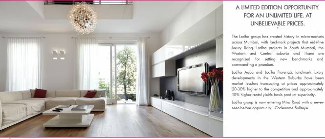 987 sqft, 2 bhk Apartment in Builder lodha codename bullseye Mira Bhayander Road, Mumbai at Rs. 88.0000 Lacs