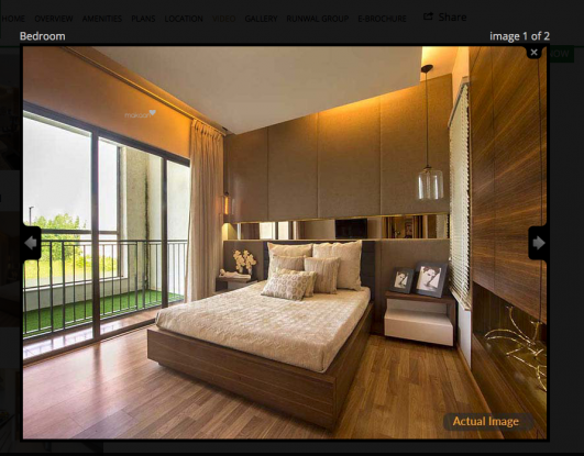 864 sqft, 2 bhk Apartment in Runwal My City Phase II Cluster 4 Dombivali, Mumbai at Rs. 62.8251 Lacs