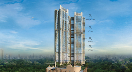 1901 sqft, 3 bhk Apartment in Builder peninsula celestia spaces Sewri West, Mumbai at Rs. 4.5600 Cr