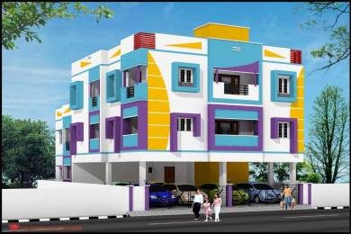 936 sqft, 2 bhk Apartment in Builder Project Moolakadai, Chennai at Rs. 49.0000 Lacs