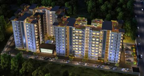 1015 sqft, 2 bhk Apartment in Prospect Princeton Apartments Kudlu Gate, Bangalore at Rs. 62.6050 Lacs