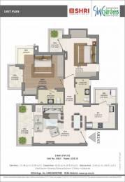 1200 sqft, 2 bhk Apartment in Shri Radha Sky Gardens Sector-16 B Gr Noida, Greater Noida at Rs. 38.0000 Lacs