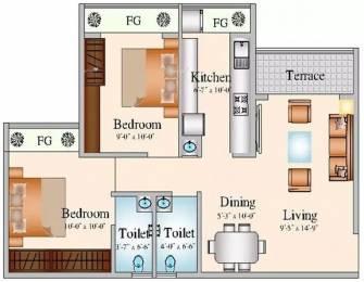 915 sqft, 2 bhk Apartment in Navkar City Phase 2 Naigaon East, Mumbai at Rs. 38.0000 Lacs