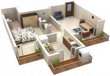 540 sqft, 1 bhk Apartment in Ritu Gardenia Naigaon East, Mumbai at Rs. 5000