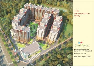 885 sqft, 2 bhk Apartment in Lotus Homz Sector 111, Gurgaon at Rs. 12.0000 Lacs