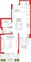 546 sqft, 1 bhk Apartment in Signature Grand Iva Sector 103, Gurgaon at Rs. 12.0000 Lacs