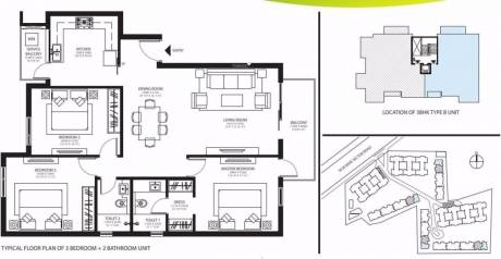 1562 sqft, 3 bhk Apartment in Ireo Rise Sector 99 Mohali, Mohali at Rs. 54.0000 Lacs