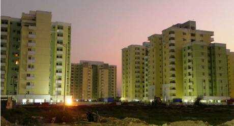 1280 sqft, 3 bhk Apartment in Reputed Greenwood Apartment Gomti Nagar, Lucknow at Rs. 74.0000 Lacs