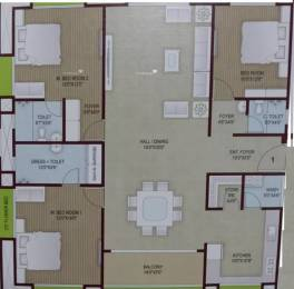 2083 sqft, 3 bhk Apartment in MS Maansarovar Hills Athwa, Surat at Rs. 35000