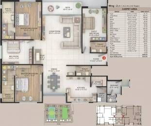 3614 sqft, 4 bhk Apartment in Happy Home Celebrity Greens Vesu, Surat at Rs. 65000