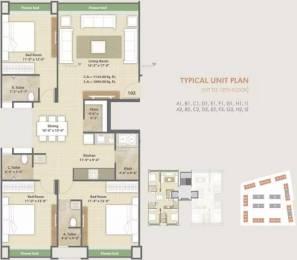 1890 sqft, 3 bhk Apartment in Avadh Copper Stone Dumas, Surat at Rs. 60.0000 Lacs
