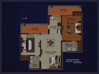 1075 sqft, 2 bhk Apartment in Migsun Kiaan Sector 14 Vasundhara, Ghaziabad at Rs. 53.7393 Lacs