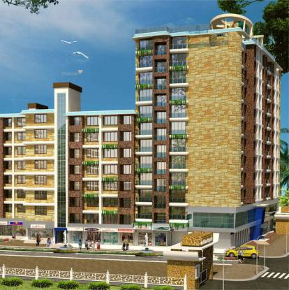 1077 sqft, 2 bhk Apartment in Innovative Orchid Metropolis Kurla, Mumbai at Rs. 1.3800 Cr