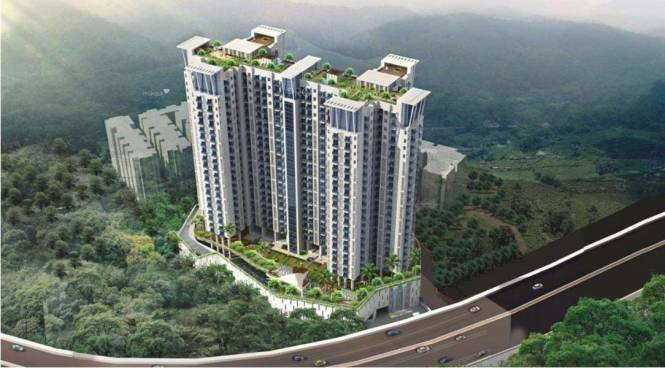 1485 sqft, 3 bhk Apartment in Hubtown Hillcrest Andheri East, Mumbai at Rs. 2.4700 Cr