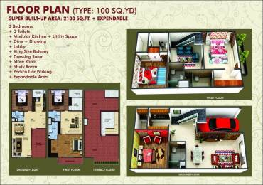 2100 sqft, 3 bhk Villa in Builder novel valley Sector-16 B Gr Noida, Greater Noida at Rs. 50.0000 Lacs