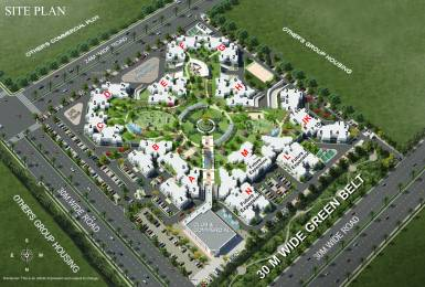 1800 sqft, 3 bhk Apartment in RG Residency Sector 120, Noida at Rs. 73.0000 Lacs