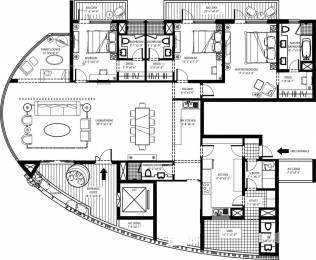 3175 sqft, 3 bhk Apartment in Emaar Sky Terraces Sector 66, Gurgaon at Rs. 2.7000 Cr