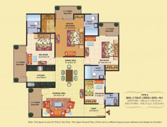 1995 sqft, 3 bhk Apartment in SCC SCC Sapphire Raj Nagar Extension, Ghaziabad at Rs. 49.0000 Lacs