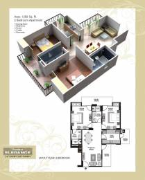1250 sqft, 2 bhk Apartment in Exotica Elegance Ahinsa Khand 2, Ghaziabad at Rs. 61.0000 Lacs