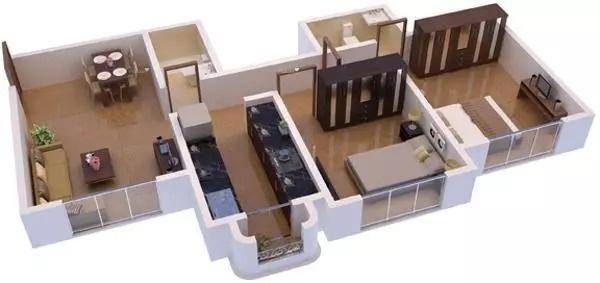 820 sqft, 2 bhk Apartment in Ecohomes Greens Karjat, Mumbai at Rs. 32.0000 Lacs