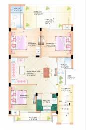 1469 sqft, 3 bhk BuilderFloor in Builder Project Zirakpur punjab, Chandigarh at Rs. 40.8000 Lacs