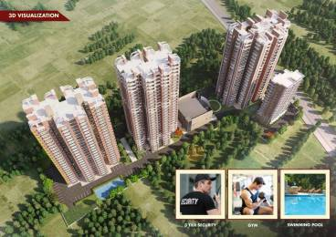 1010 sqft, 1 bhk Apartment in Builder Ncr Monach Greater noida, Noida at Rs. 36.4610 Lacs