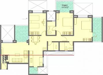 1594 sqft, 3 bhk Apartment in Welworth Tinseltown Bavdhan, Pune at Rs. 1.1600 Cr