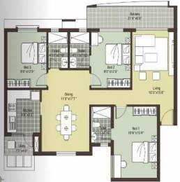 1495 sqft, 3 bhk Apartment in Arihant Escapade Thoraipakkam OMR, Chennai at Rs. 85.0000 Lacs