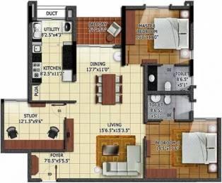 1575 sqft, 2 bhk Apartment in Radiance Mandarin Thoraipakkam OMR, Chennai at Rs. 1.3500 Cr