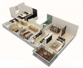 1609 sqft, 3 bhk Apartment in Karia Konark Meadows Wagholi, Pune at Rs. 85.0000 Lacs