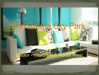 599 sqft, 1 bhk Apartment in Shri Radha Sky Park Sky Garden Phase 2 Sector 16B Noida Extension, Greater Noida at Rs. 16.2600 Lacs