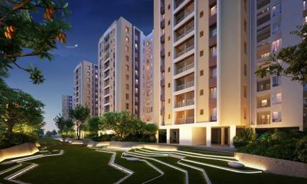 864 sqft, 2 bhk Apartment in Srijan Eternis Madhyamgram, Kolkata at Rs. 33.7400 Lacs